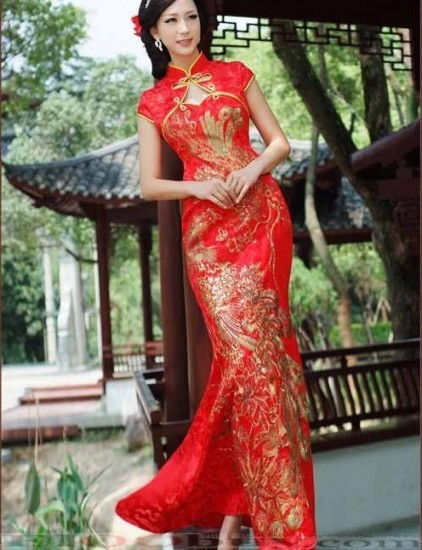 Chinese Bridesmaid Dress