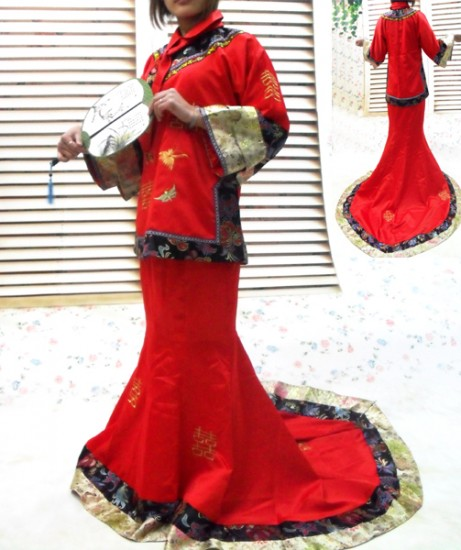 Chinese Traditional Wedding Dress Singapore