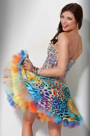 Colorful Short Prom Dresses