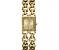 Gold Guess Wrist Watches for Stylish Women