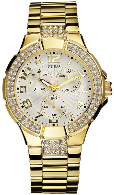 Gold Guess Wrist Watches For Women Fashion Belief