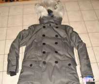 Stylist and Warm with Pea Coat with Hood for Men