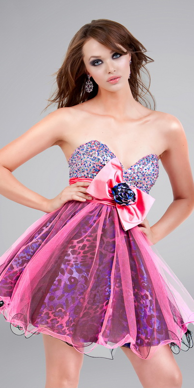 Hot Pink Camo Prom Dresses | Fashion Belief