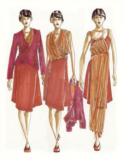 How To Sketch Dresses Fashion Design