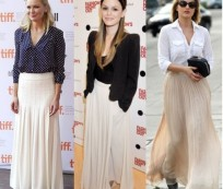 The Trend of Maxi Skirts Style is Back