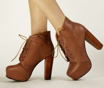 The Super Cool Laced Up Ankle Boots