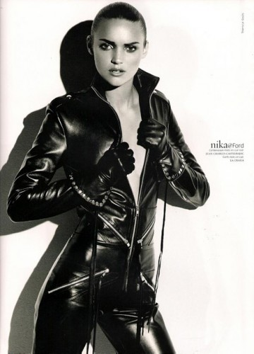 Leather Catsuit Women