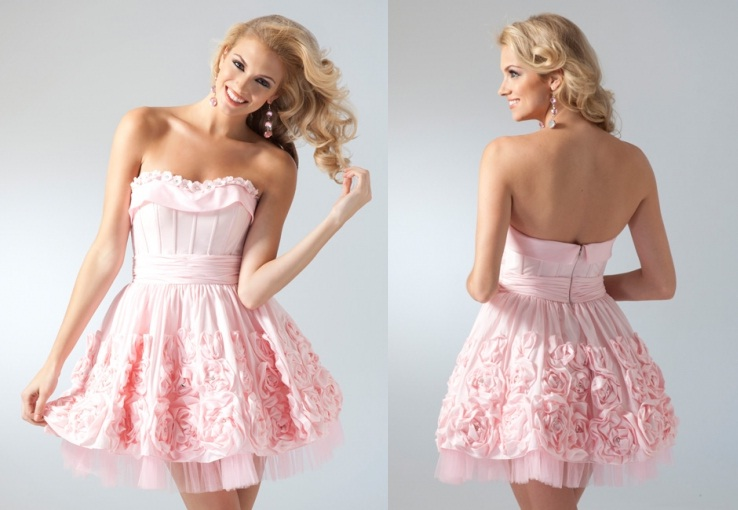 short light pink prom dress great ideas for fashion