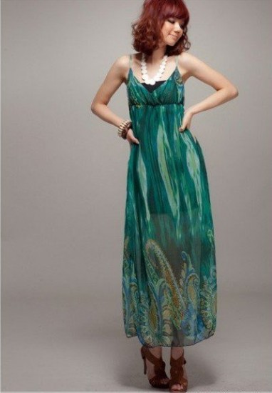 Long Skirt Patterns For Women