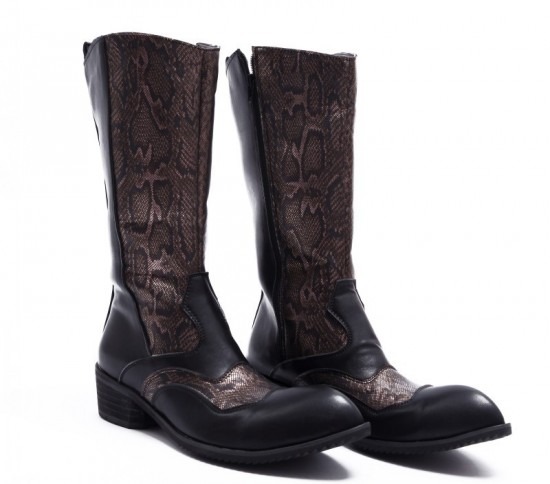Man Riding Boots Fashion
