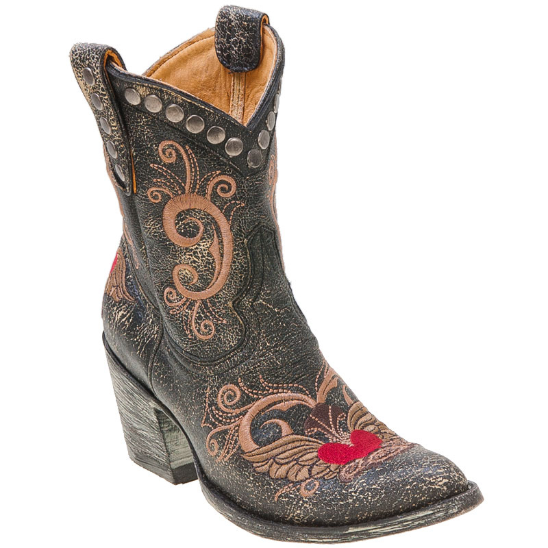Lastest Old Gringo Butterfly Inlay Western Boots For Women