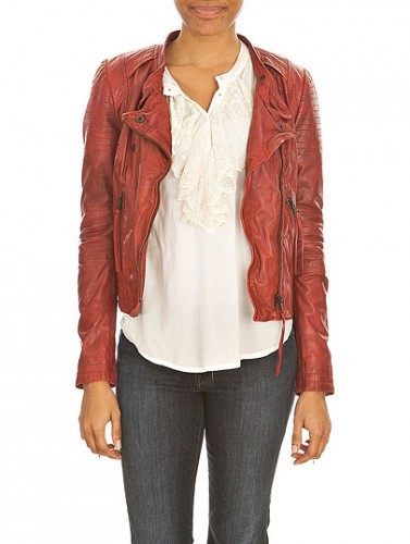 Pepe Jeans Leather Jacket Women