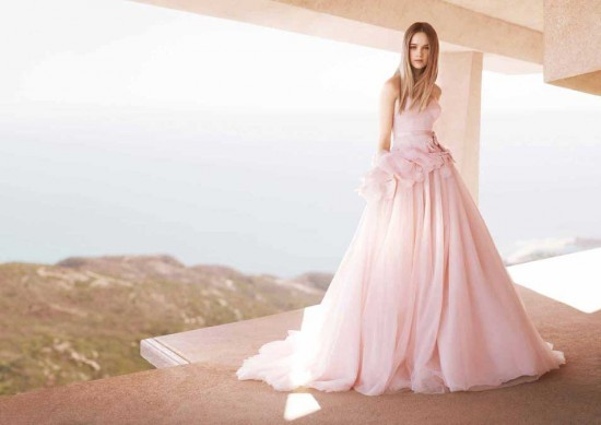 Pink Wedding Dresses David's Bridal