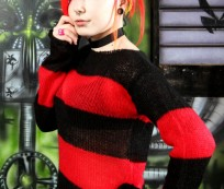 Punk Mohair Sweater makes a Punk Look Sweeter