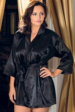 Satin Nightwear for Fat Women Picts