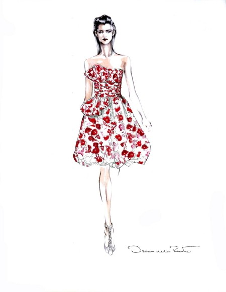 Short Dress Design Sketches Picts Fashion Belief