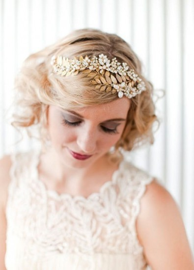 Short Hair Updos For Brides