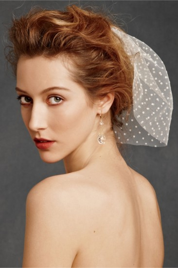 Short Hair With Veil For Wedding