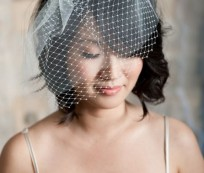 How to Have a Beautiful Short Wedding Hairstyles with Veil