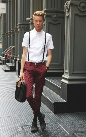 Skinny Chino Pants For Men