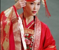 The Auspiciousness Chinese Traditional Wedding Dress