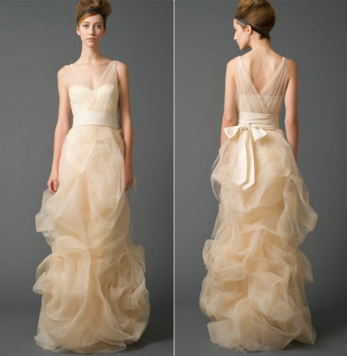 Vera wang bridal dresses sale fashion belief for Vera wang wedding dress for sale