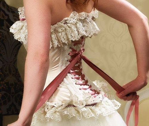 Victorian Corset Wedding Dresses