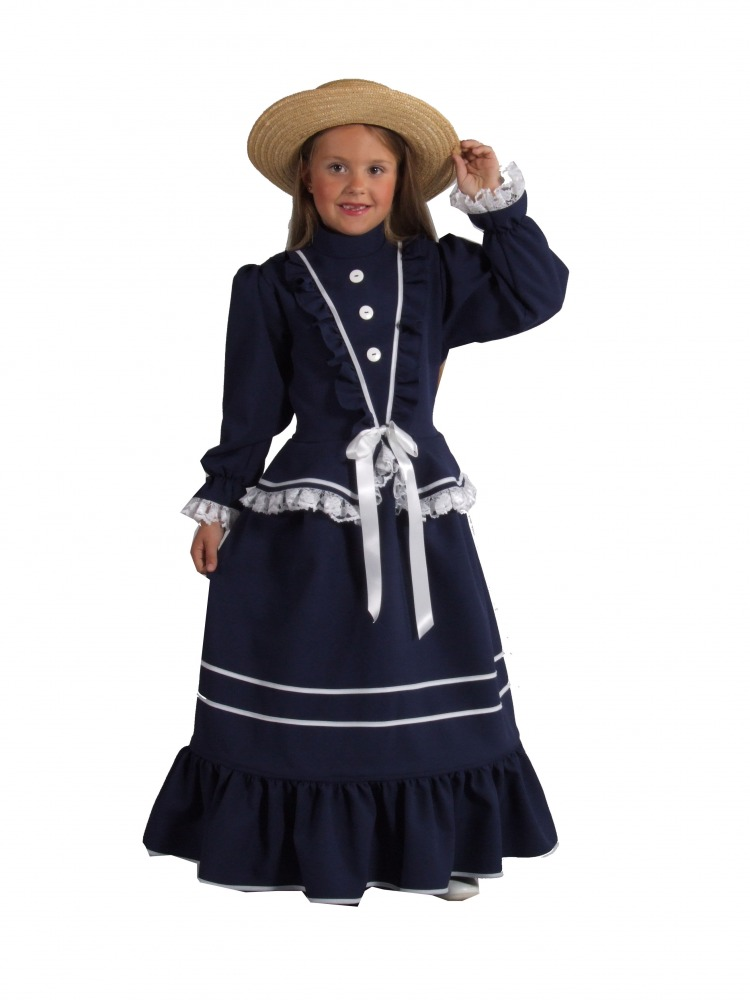Victorian costumes girls fashion belief