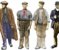 How is Victorian Era Men's Clothing Look Like
