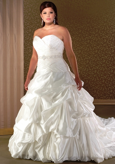 Wedding dress big bust fashion belief for Wedding dress for large bust