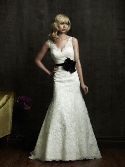 Wedding Dress Black Belt