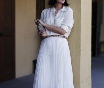 Make Some Experiment with Summer Maxi Skirt