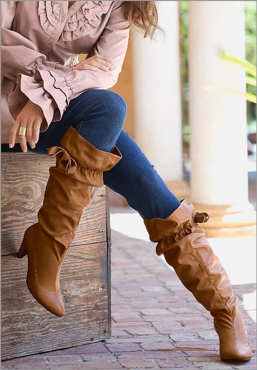 Wide Calf Boots For Petite Women