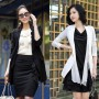 Women Long Coat Suits Picts