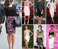 The pencil skirt – key piece for spring