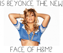 Beyoncé became face of a famous clothing brand