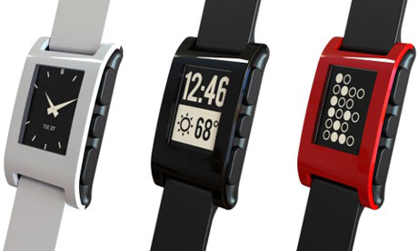 Pebble wristwatch
