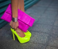 Neon shoes for spring-summer 2013