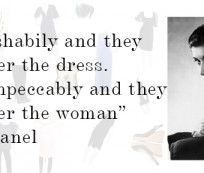 Fashion tips from Coco Chanel