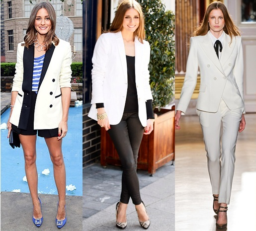 fashion-belef White-blazer