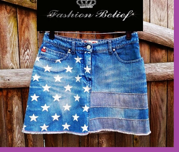 American-denim-skirt-for-young-ladies
