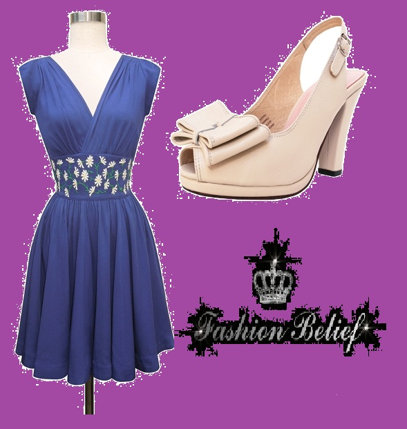 Which-Shoes-Go-With-a-Purple-Dress-For-2014