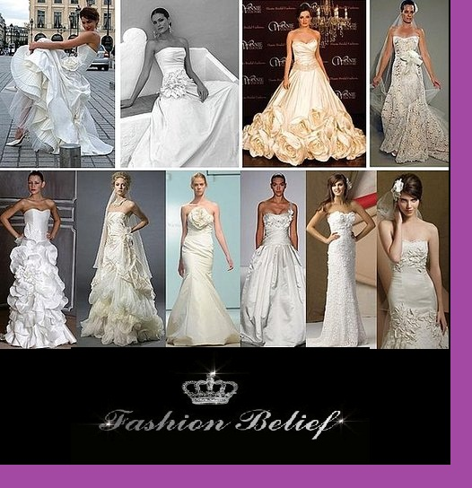 Different Types Wedding Dresses Fashion Belief