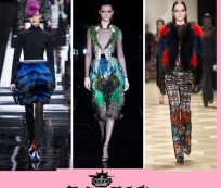 All hands up for Gucci's feather dress