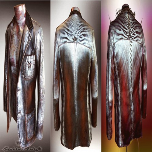 hand made leather jacket