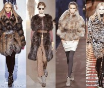 Fur clothing as winter's top accessory