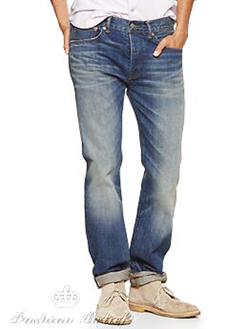 1969 Japanese selvedge slim fit jeans - kid colt