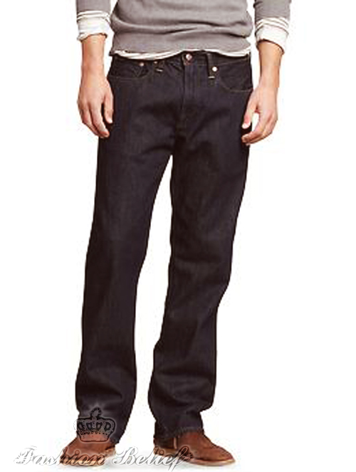 1969 standard fit jeans (resin rinse) - resin rinse