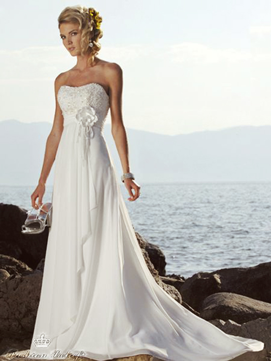 Empire Waist Wedding Dress