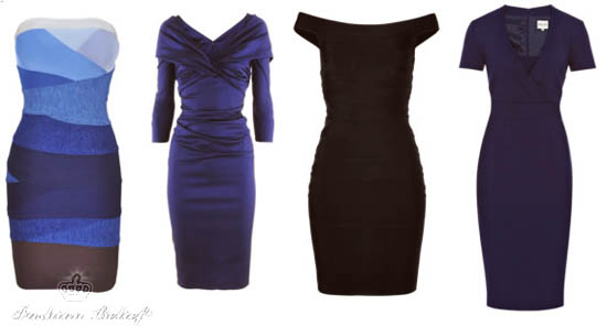 dresses for hourglass-shaped figure